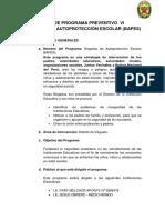 Plan de Programa Preventivo Bapes (Autoguardado)