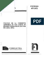 457-73 Norma Ciodelectra Ampacidad Cond