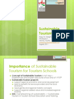 Presentation_sustainable Tourism Development as Part of Esd_zagreb