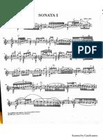 Bach Adagio Sonata No. 1
