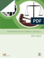 Estatistica de Crime e Justica_2013_2015
