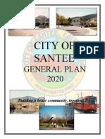 Santee General Plan 2020