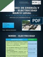 Ministerio de Energía y Minas Electricidad