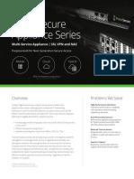 PulseSecure OneSheet PSAHardware 061217