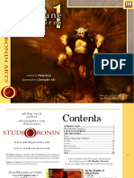 d20 Ronin Arts 101 Mundane Treasures Revised
