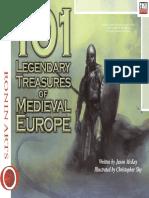 d20 Ronin Arts 101 Legendary Treasures of Medieval Europe