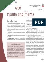 d20 Ronin Arts A Dozen Plants and Herbs