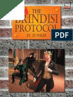 The Game Mechanics d20 Modern the Brindisi Protocol adv