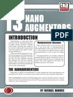 d20 Ronin Arts Future 13 Nano Augmentors