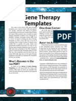 d20 Ronin Arts Future 13 Gene Therapy Templates