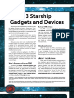 d20 Ronin Arts Future 13 Starship Devices and Gadgets