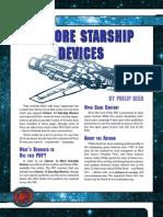 d20 Ronin Arts Future 13 More Starship Devices