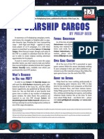 d20 Ronin Arts Future 13 Starship Cargos