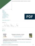 Tratamientos Postcosecha Para Controlar Trastornos Fisiológicos y Patológicos en La Fruta de Limón - ScienceDirect