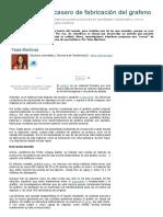 grafeno Nuevo método casero de fabricación.pdf