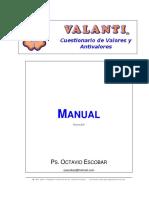 Manual Valanti