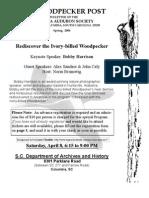 Spring 2006 Woodpecker Post Newsletter, Columbia Audubon Society