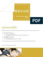 Welcome, First Time to BTS- %2F BTS Primer