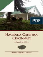 Hacienda Cincinnati - Memoria Geográfica e Histórica