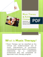 Presentation for Music Therapy Course