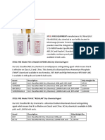 SF Dry Chemical Spec Sheet