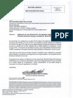 Notificación por aviso Resolución Nro 239 Liquidación unilateral del contrato de prestación de servicios de apoyo a la gestión Nro 234 de 2015