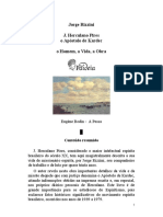 Jorge Rizzini - Herculano Pires, o Apóstolo de Kardec
