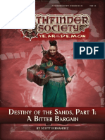 12 Destiny of the Sands Part 1 a Bitter Bargain