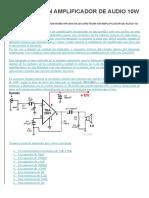 Construir Un Amplificador de Audio 10w Con Tda2003