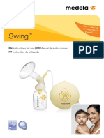 Swing Extrator de Leite Instrucoes de Utilizacao