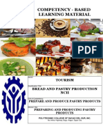 CBLM - BPP Prepare and Produce PAstry Pr