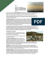 Contaminación de La Ciudad y El Campo