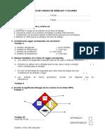 Examen de Codigo de Señales y Colores