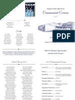 2017 Graduation Program