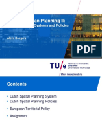 Spatial Planning Systems and Policies