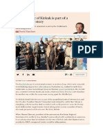 Iraq's seizure of Kirkuk is part of a much bigger story; Fuente Financial Times