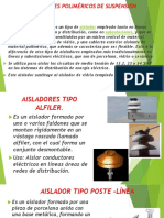 Aisladores Poliméricos de Suspensión(1)