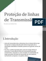 11-Proteção de Linhas de Transmissão