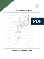 Estatisticas Do Distrito de Cidade de Quelimane