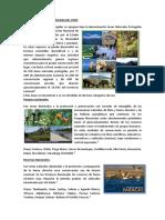 Áreas Naturales Protegidas Del Perú