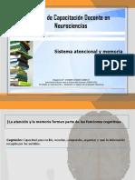 Apunte B - Sistema Atencional y Memoria