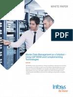 SAP Master Data Management Solution
