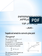 Matind I 8-9-Differentiation Application