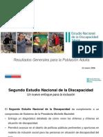 Estudio nacional sobre la discapacidad