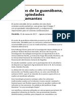 Semillas de La Guanabana Con Propiedades Desinflamantes.html