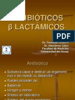 Betalactamicos farmacologia