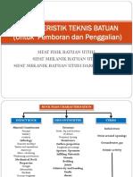 2 Karakteristik Teknis Batuan