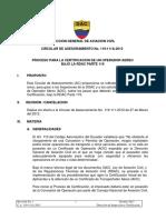 CA 119 111A 1013 Proceso Para La Certificación de Un Operador Aéreo Bajo RDAC119