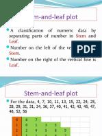 Day26.Stem Leaf Plot