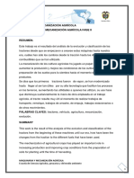 Fase Dos Maquinaria y Mecanización Agrícola Sergio Ortiz